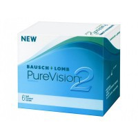 Bausch + Lomb Контактные линзы pure vision 2