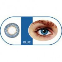 Bescon Цветные контактные линзы tutti premium blue
