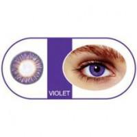 Bescon Цветные контактные линзы tutti classic violet