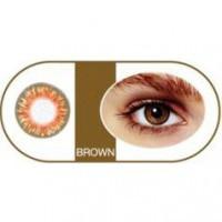 Bescon Цветные контактные линзы tutti premium brown