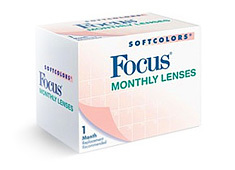 Focus Softcolors Monthly Royal Blue